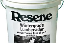 Wintergrade paints from Resene