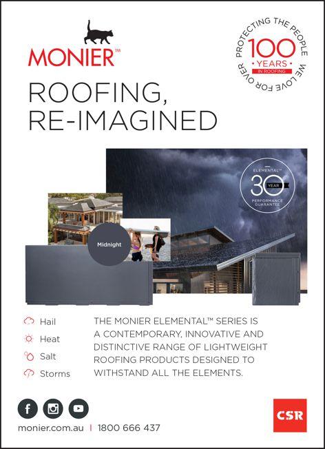 Elemental series roofing by CSR Monier
