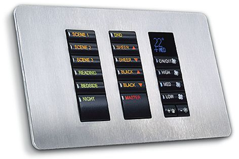 The Revolution Series 2 panel makes home automation and lighting control systems easy.