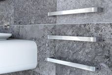 Curvestone Modular heated towel rails by DC Short
