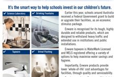 Choose Enware tapware to help build the education revolution