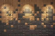 3D Cork wall coverings from Havwoods