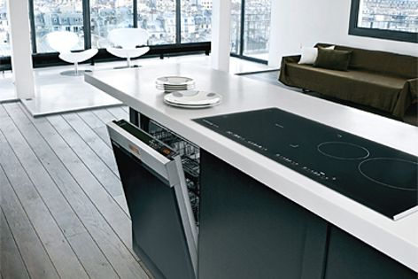 Design, perfection and innovation characterize DeDietrich dishwashers.