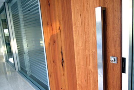 Recycled timber for floors, decks, doors, cladding and furniture