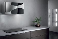 Ambient canopy rangehood by Ilve
