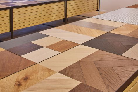Engineered timber boards from Havwoods are available in a range of colours, sizes and designs.