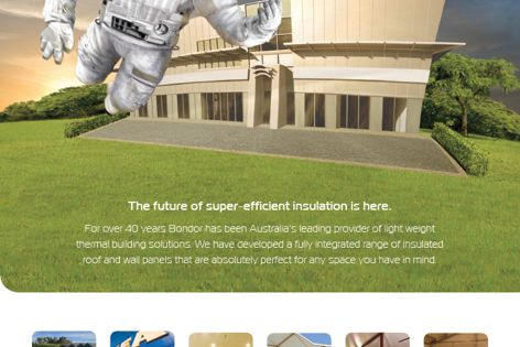 Energy efficient insulation by Bondor