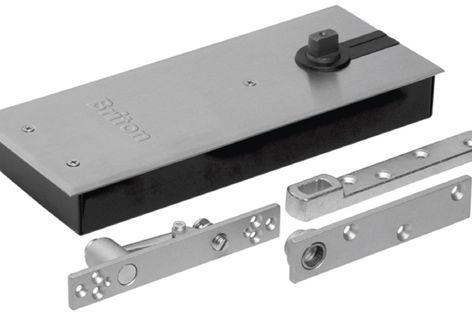 The Briton M5000 series floor spring provides three installation adjustments.