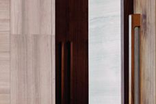 Solid timber door furniture by Tirar