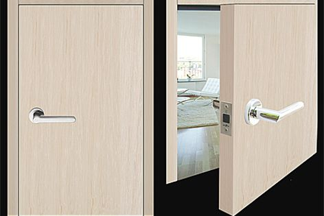 The Bellevue BL001 magnetic latch is designed without striker plates and latch tongues.