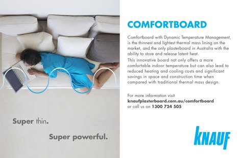 Comfortboard by Knauf