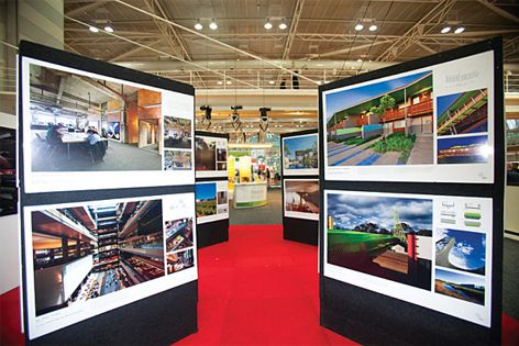 Visitors will be able to interact with exhibitors and their products.