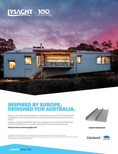 Lysaght: Inspired by Europe, designed for Australia