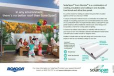 SolarSpan roofing by Bondor