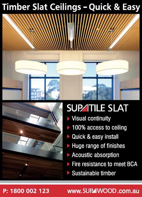 Supatile Slat from Supawood
