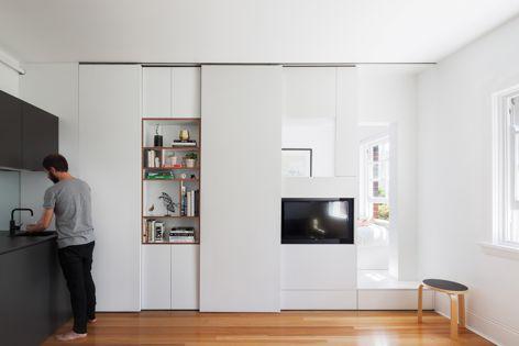 Darlinghurst Apartment by Brad Swartz Architect. Winner: Apartment or Unit. Photograph: Katherine Lu.