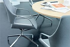 Graph conference chair by Wilkhahn