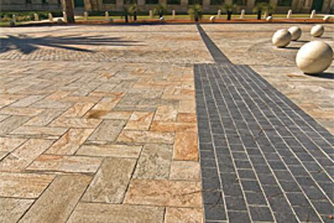 UrbanStone's Australian granite was used in a major facelift of Parliament Place in Perth.