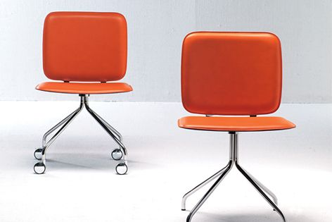 Iki by Frag is a simple chair suitable for use as a visitor chair or in a boardroom.