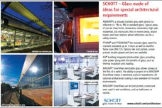 SCHOTT Architecture + Design glass