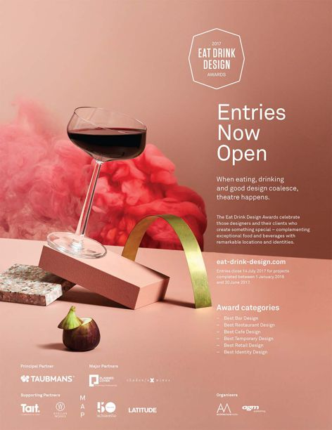 2017 Eat Drink Design Awards entries open
