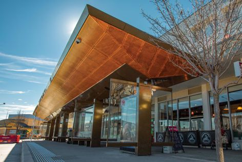 Stoddart installs bus shelters in Canberra