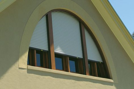 Blockout roller shutters can contribute to the internal comfort of a building.