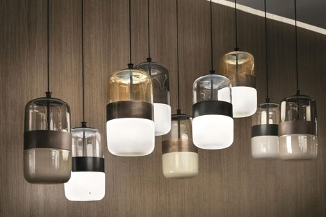 Futura blown glass pendants have an elegant design that provides functional, ambient light.