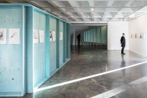 Ecoply plywood exhibited its flexibility, beauty and economy in Panovscott's A Small Exhibition. Photography: Brett Boardman.