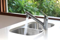 Built-in filtration taps by Taqua