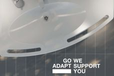 Aged-care washbasins by Pressalit Care