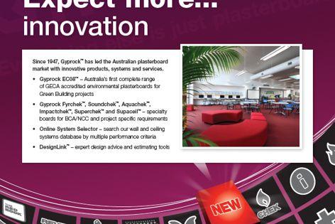 Gyprock products from CSR Gyprock