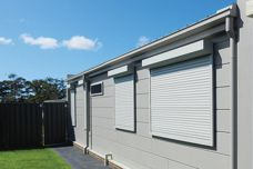 Prevent fire damage with Blockout Shutters