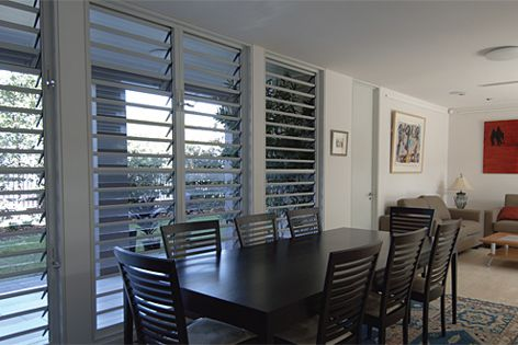 Safetyline Louvre windows suit a range of residential and commercial applications.