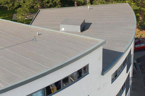 K-Dek roofdeck system by Kingspan