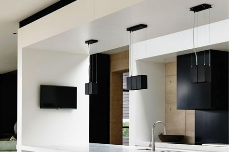 Masson For Light's Mondo Blok GU10 pendant allows for maximum flexibility and directional light control.