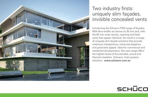FWS facade range by Schueco