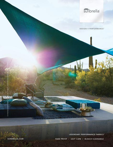 Contour shade fabrics by Sunbrella