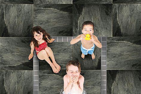 Shower drains by Aquabocci