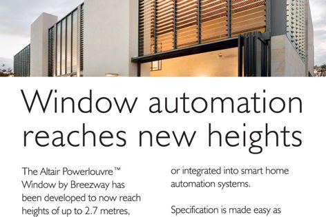 Altair Powerlouvre window