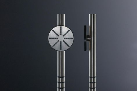 The T60 hand shower has been introduced to the Vola Round Series.