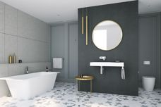 Caroma Sunstone solid surfaces from GWA
