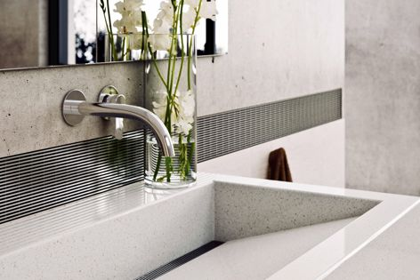 Stormtech works closely with interior designers to make beautiful accent pieces for high-end bathrooms.