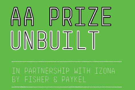 AA Prize for Unbuilt Work
