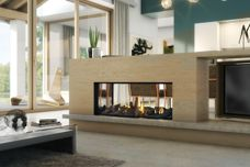 DS1150 gas fireplace by Escea