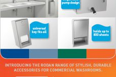 Rodan washroom accessories by Enware