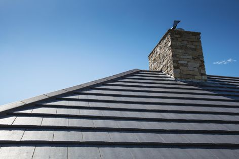 "Monier's ""slate look"" roof tile profiles offer the classic, sleek look of natural slate."