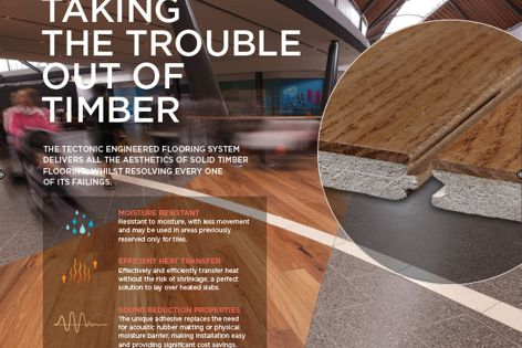 Tectonic flooring from Eco Timber Group