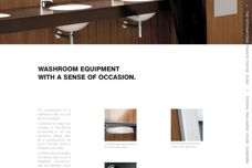 Washroom equipment with a sense of occasion