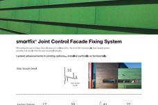 Smartfix Joint Control facade fixing